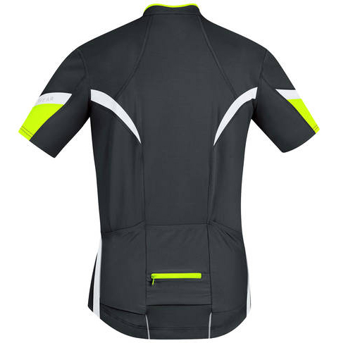 gore power 2.0 mens jersey black back view