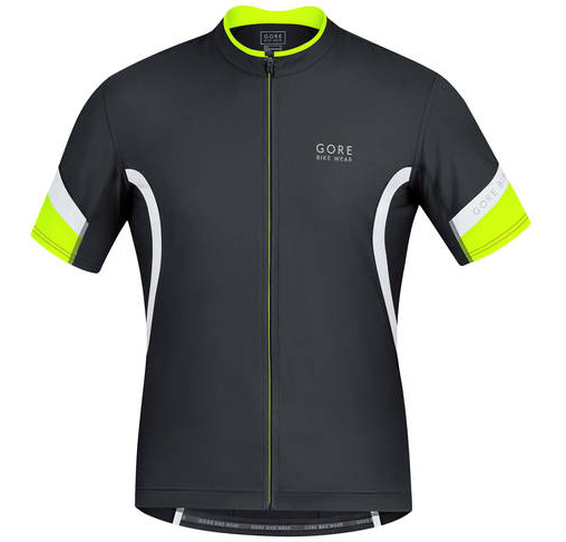 Gore Brand Power 2.0 mens jersey black front