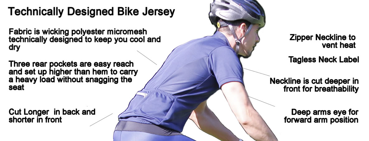 cycling jersey features