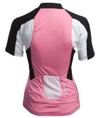 pink breeze bike jersey