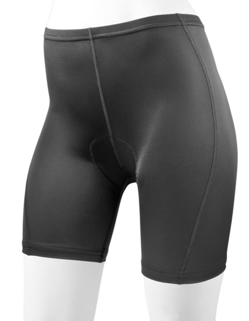 aero tech plus women padded bike short