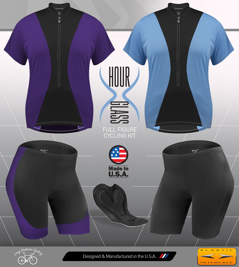 plus womens cycling apparel