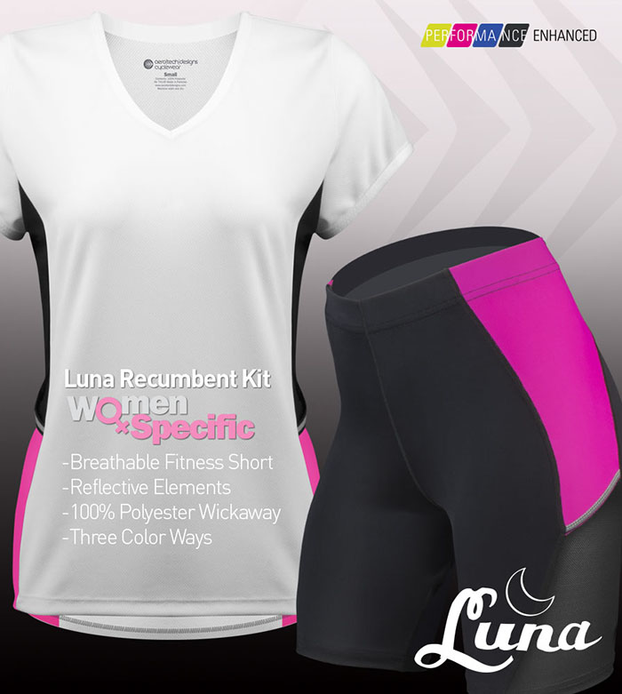 Make it a kit with the Luna Recumbent Compression Shorts