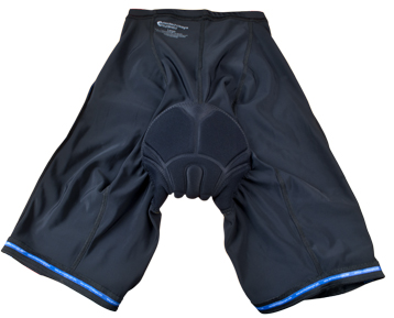 internal view of bike shorts