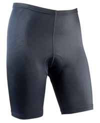 men's black tri short