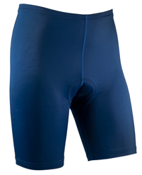 men's navy blue triathlon short