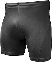 Black Fitness Short