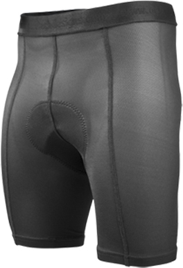 gel padded cycling liner