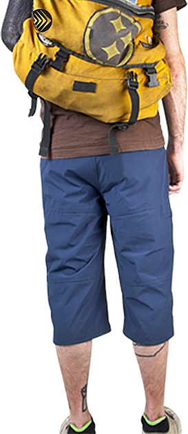 ATD Mens Commuter Pedal Pushers Cycling Pants