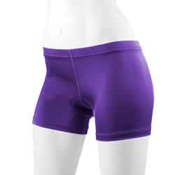 purple bike short