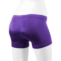 purple spankie short