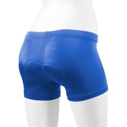 royal blue padded spankie