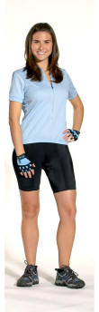girls bike short