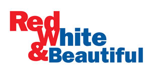 red white and beautiful