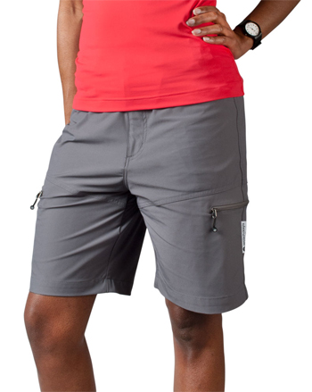 charcoal multi sport short for women