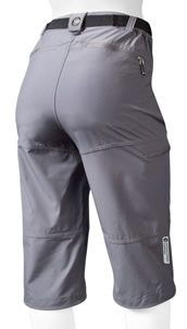 charcoal cycling knickers