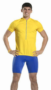 men's padded pro bike short