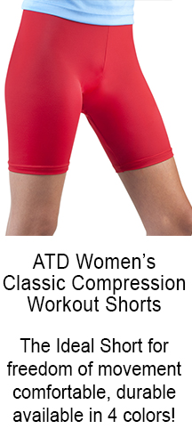 classic compression workout short for every sport, swim, run, row, gym unpadded short in color options