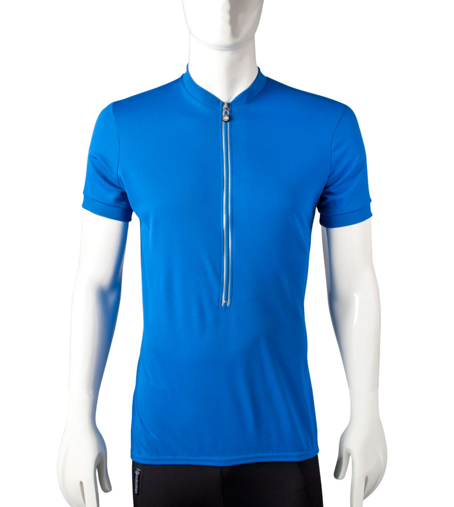 blue bike jersey in tall size