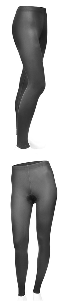 Plus women padded cycle tights