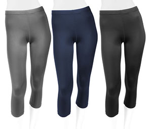 Women's Capris and Cycling Knickers help you ride longer and feel stronger
