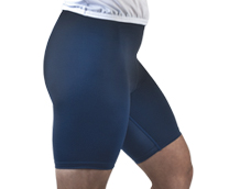 tri shorts with light pad