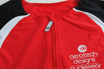red triathlon singlet