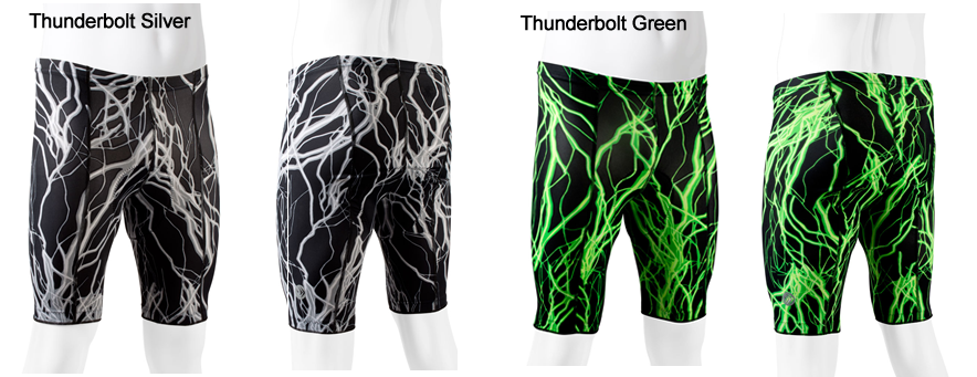 Men's Thunderbolt anti-chafe bike shorts