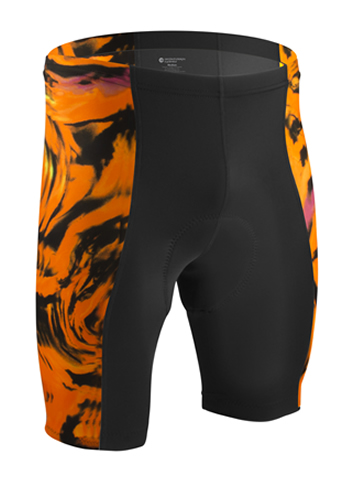 Orange Cycling Short