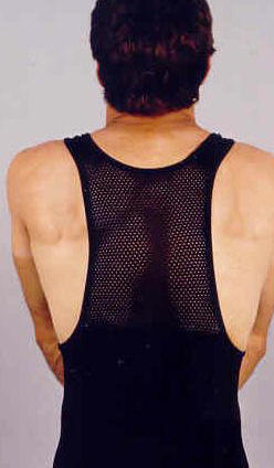 Back View of Bib tights
